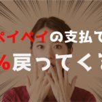 ペイペイアプリの100億円キャッシュバックキャンペーン!期間はいつまで?